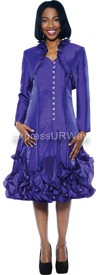 Nubiano Dresses DN5432 - Purple
