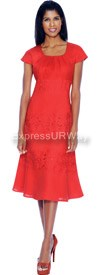 Nubiano Dresses DN4851-Red
