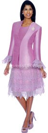 Clearance Nubiano Dresses DN4882-Lilac