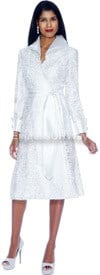 Clearance Nubiano Dresses DN5141-White