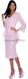 Nubiano Dresses DN5222-Pink