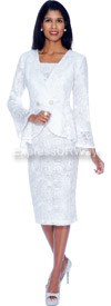 Clearance Nubiano Dresses DN5222-White