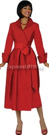 Clearance Nubiano Dresses DN5371-Red