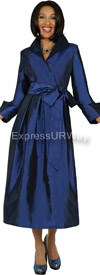 Clearance Nubiano Dresses DN5371-Navy