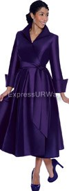 Nubiano Dresses DN5371-Purple