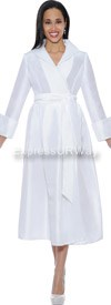Clearance Nubiano Dresses DN5371-White
