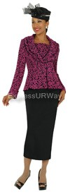 Clearance Nubiano N94882 Ladies Church Suit