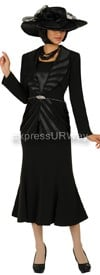 Nubiano N94463 Black - Church Suit