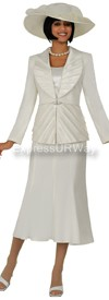 Nubiano N94463 Ivory - Church Suit