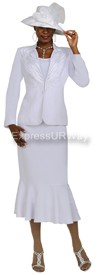 Nubiano N94483 White - Church Suit