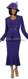 Nubiano N94483 Purple - Church Suit