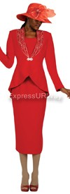 Nubiano N94513 Red - Church Suit