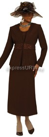 Nubiano N94543 Brown - Church Suit