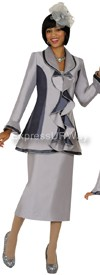 Clearance Nubiano N94583 Ladies Church Suit