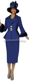 Nubiano N94592 Navy Church Suit