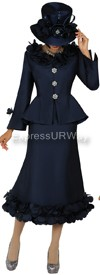 Nubiano N94662 Navy - Church Suit