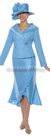 Clearance Nubiano N94732 Ladies Church Suit