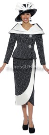 Clearance Nubiano N95142 Ladies Church Suit