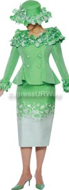 Nubiano N94822 Ladies Church Suit