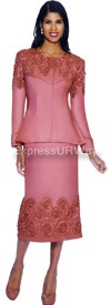 Nubiano N94172-WildCoral - Ladies Church Suit