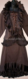 Clearance Pegasus Woman 5006 Chocolate Womans Suit