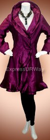 Pegasus Woman 5018 Purple Womans Suit