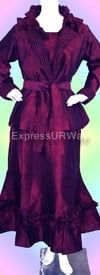 Pegasus Woman 6007 Exotic Purple Womens Suit