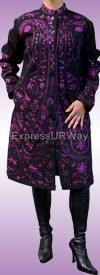Pegasus Woman 6015-Purple Womens Coat