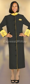 Regal Robes RR9001 Black Church Robe