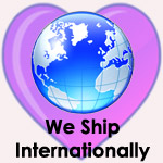 We Ship Around the World!