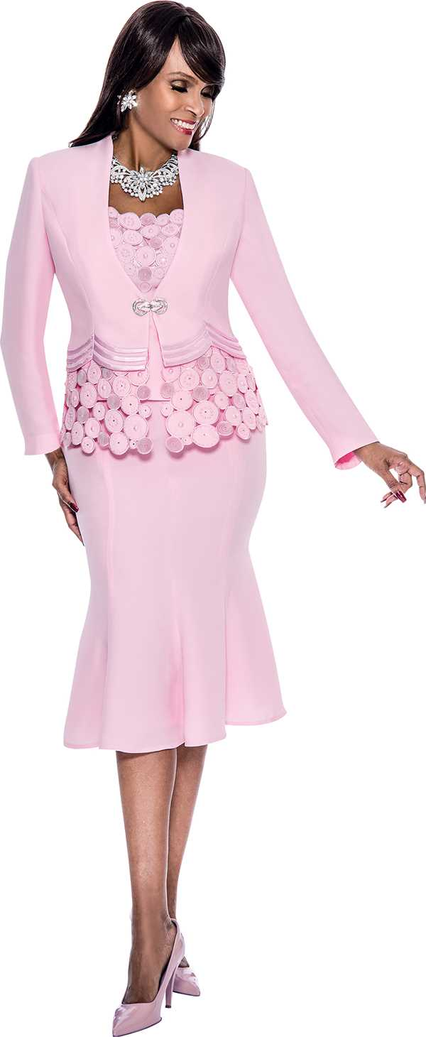 susanna 3692pink skirt suits for church spring 2016