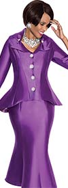 Terramina 7569 Womens Amethyst Suit For Church