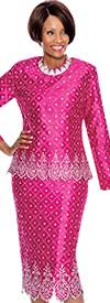 Terramina 7481-Fuchsia Church Suit