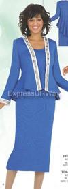 Womens Knit Suits Todd and Olivia TD94023