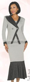 Womens Knit Suits Todd and Olivia TD94052