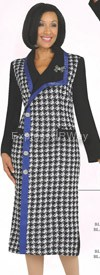 Womens Knit Suits Todd and Olivia TD94081