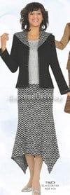 Womens Knit Suits Todd and Olivia TD96373
