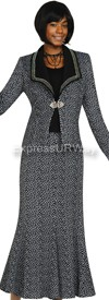 Womens Knit Suits Todd and Olivia TD94393