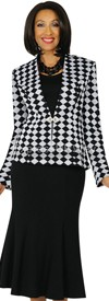 Womens Knit Suits Todd and Olivia TD94423