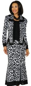 Womens Knit Suits Todd and Olivia TD94433