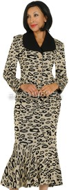 Womens Knit Suits Todd and Olivia TD94872