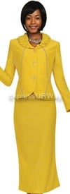 Womens Knit Suits Todd and Olivia TDC94352 - Light Gold