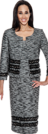 Womens Knit Suits Todd and Olivia TD94512