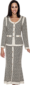 Womens Knit Suits Todd and Olivia TD94542
