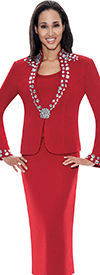 Womens Knit Suits Todd and Olivia TD94563