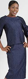 WHY-7193 Womens Two Piece Skirt Set