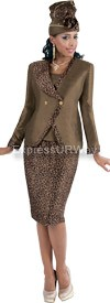 TAL-4366-Brown Womens Suit
