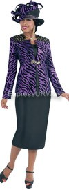 TAL-4372-Purple Womens Suit
