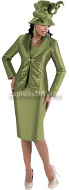 TAL-4385-Brown Womens Suit