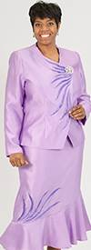 ELL-6401-Lilac Womens Suit